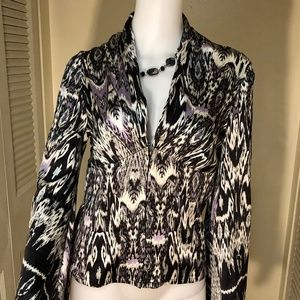 🆕 MARCIANO Silk Bell sleeve blouse NWOT